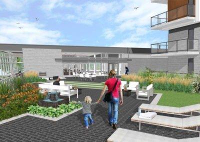Vue-Terrasse-extérieure-au-Club-House-